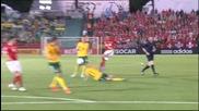 Литва - Швейцария 1:2
