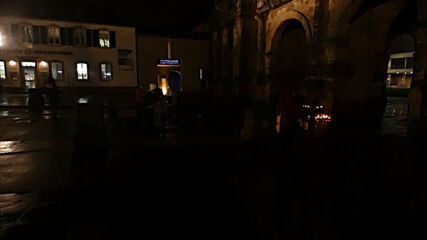 Germany: Candles lit at Trier's Porta Nigra after car ramming leaves 5 dead