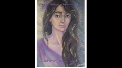 Рисуване на портрети - Cvety Art