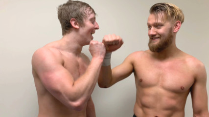 Flash Morgan Webster & Mark Andrews aim to make WWE history: WWE.com Exclusive, April 17, 2019