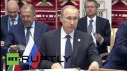 Russia: Ufa summit aimed at boosting BRICS' econ. development - Putin