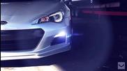 Subaru Brz с джанти Vossen