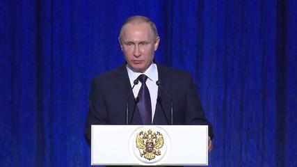 Russia: More than 30 terrorist crimes prevented by FSB in 2015 - Putin