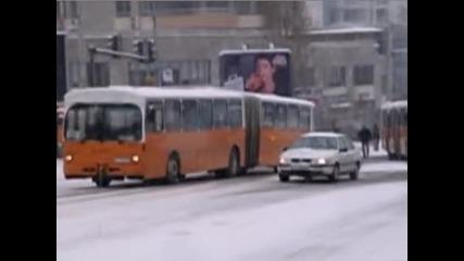 Автобус 413 буксува
