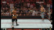 Raw 3 For All 06/15/09 Orton vs Big Show vs Cena vs Triple H [ W W E Championship]