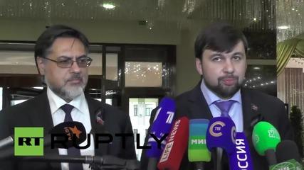 Belarus: Minsk contact group meeting postponed following 'procedural disagreements'