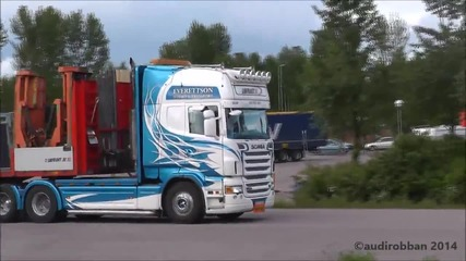 Best Of Scania 8- Sound 2013 Loud Pipes Save Lives