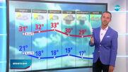 Прогноза за времето (02.08.2020 - обедна емисия)