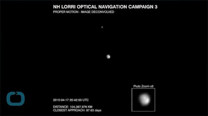 New Horizons Images Indicate A Frozen Substance In Pluto's Polar Region
