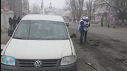 Ukraine Separatists Protest Against OSCE Mission In East
