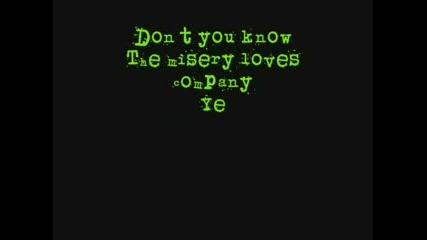 Good Charlotte - Misery -Lyrics-