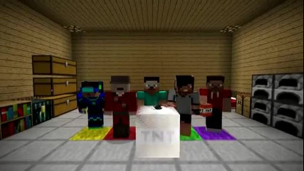 Minecraft най-големият Harlem Shake !