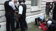 UK: 2 arrested as BLM, far right marches meet in London