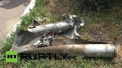 Ukraine: OSCE inspect Telmanovo shelling site where child died