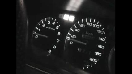 Ускорение на хонда - vtec влиза в действие