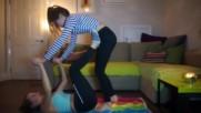Yoga Challenge With My Sister - Heather