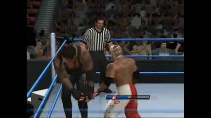 Wwe Smackdown vs Raw 2011 Сезон 1 Епизод 2 Rey Mysterio vs Undertaker Smackdown Part 3