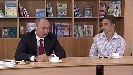 Russia: Putin congratulates students on start of new school year in Vladivostok