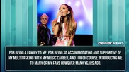 Ariana Grande's Fan Letter About Sam & Cat Cancellation