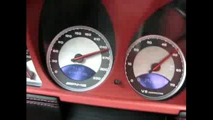 Mercedes Benz Sl55 V8 Kompressor 220 - 290 Kph