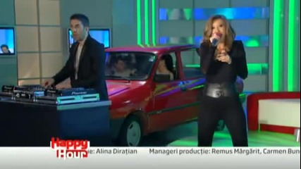 Dj Project si Adela Popescu - Vraja ta - Happy Hour*превод*