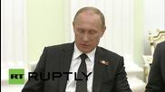 Русия: Путин и Меркел ще говорят за бъдещето на Украйна