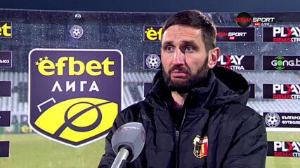 Тунчев: Този мач ще остане в историята, но да не изпадаме в еуфория