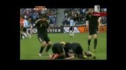 Бундестима Мачка Аржентина 0 - 4 Германия 3.07.10