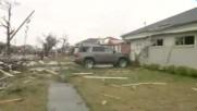 Торнадо вилня в Луизиана, десетки са ранени