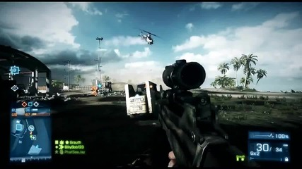 Battlefield 3 - Wake Island Gameplay Trailer