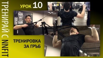 Упражнения за гръб от NNFit- Част 1