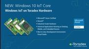 Toradex Windows 10 Iot Core Starter Kit - Embedded World 2016