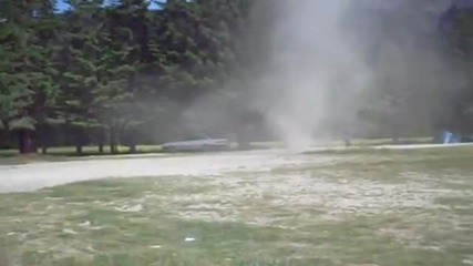 Мини торнадо на Смолянските езера!