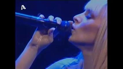 Peggy Zina - To kalokairi & Eimai edo Live - Vox