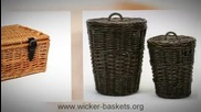 Wicker Baskets rare quality small to Large Wicker Baskets