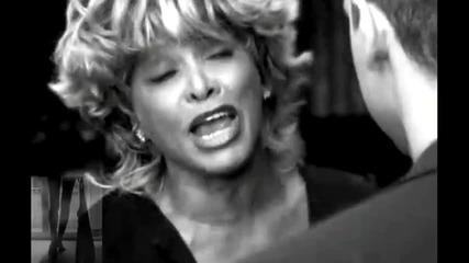 Eros Ramazzotti & Tina Turner - Cose Della Vita ( Black & White Version )