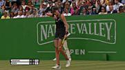 Wta 2018 Nottingham Open 1/4 Dalila Jakupovic vs Johanna Konta