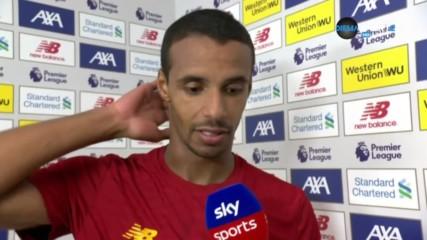 Матип: Арсенал се беше окопал, дано продължа да вкарвам