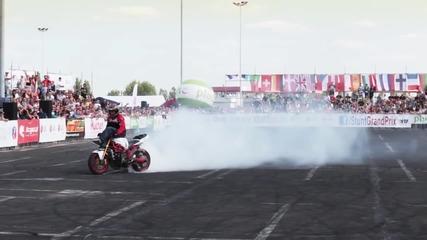 Най-добрия моторист (stunt)