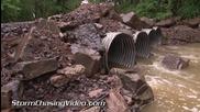 Речно наводнение в Денвил , Арканзас 14.5.2014