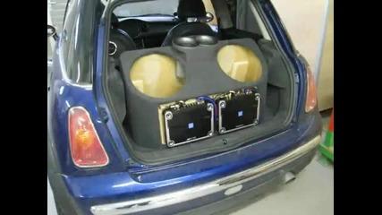 Аудио Проект Mini Cooper - Alpine Swr - 1242d
