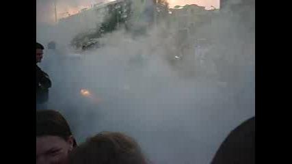 Палене На Гуми На Бал В Пловдив