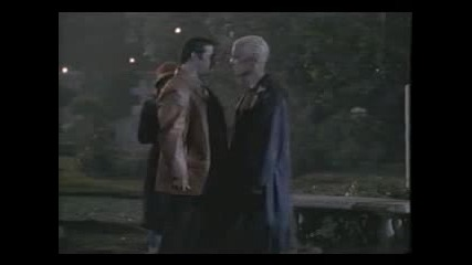 Xander And Spike - The Kiss