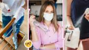 Как да почистим дома си правилно в условията на коронавирус