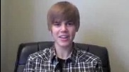 Justin Bieber! Смях!