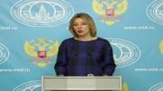 Russia: Zakharova slams mainstream media for 'biased' US presidential race coverage