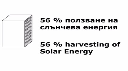 Reflector boosted facade solar panels