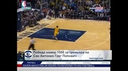 "Победа номер 1000 за треньора на ""Сан Антонио"" Грег Попович"
