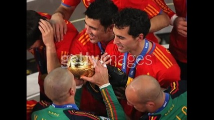The New World Football Champion - Spain !!