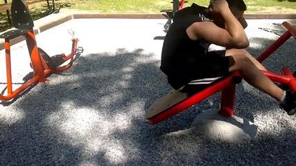 Една Моя Тренировка Street Fitnes